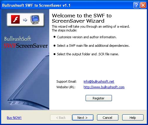 SwfScreenSaver ScreenShot